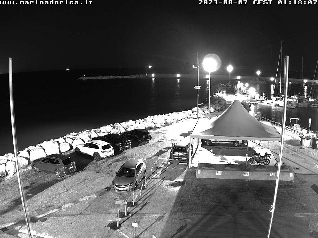 Webcam sul porto di ancona